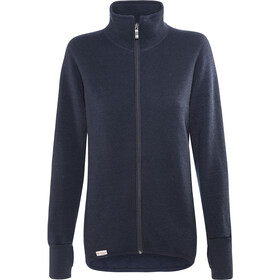 Woolpower 600 Giacca con zip intera, dark navy